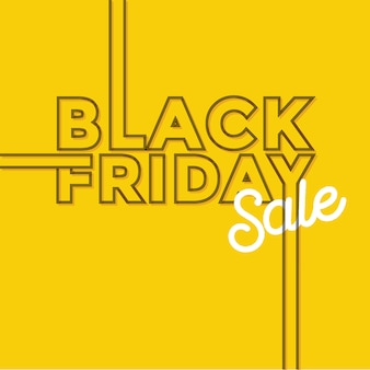 Black friday simple modern background