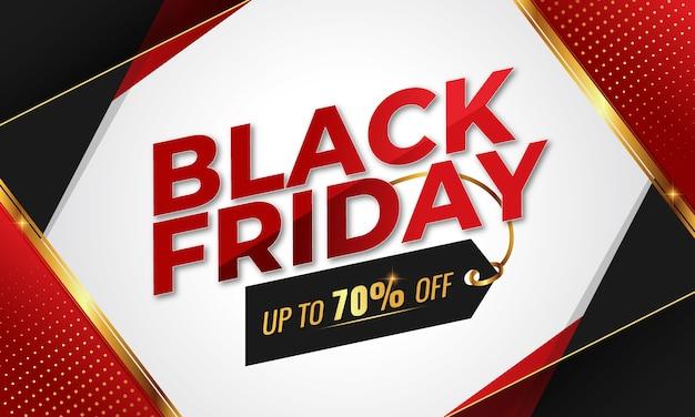 Black friday social media banner, post, sale banner or discount banner premium template