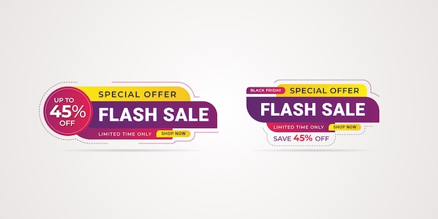 Black friday special offer  business promotional sale banner template