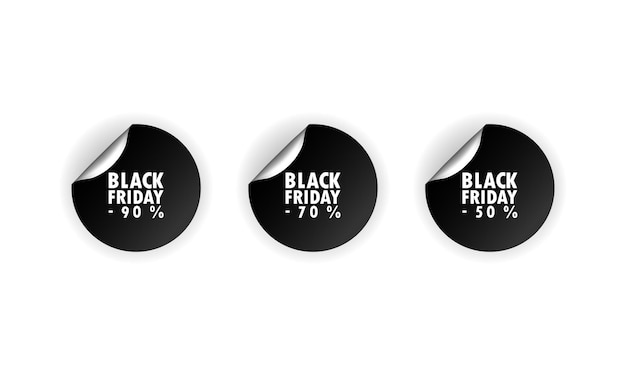 Стикер черная пятница