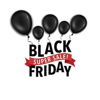 Черная пятница super sale flayer