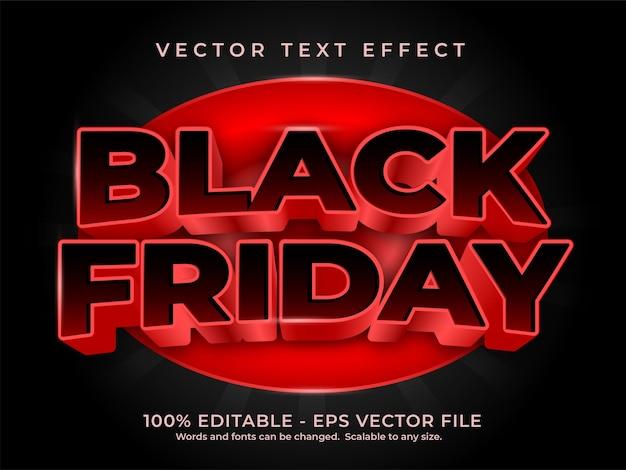 Черная пятница текстовый эффект