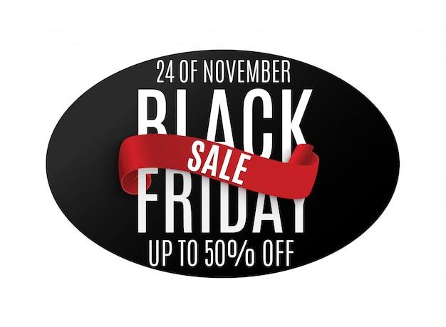 Black friday. web banner, logo, emblem and label.