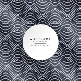 Стильный абстрактный узор линии