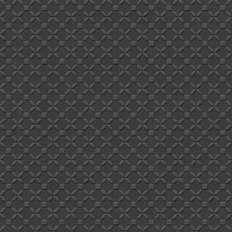 Black geometric simple seamless pattern
