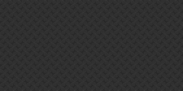 블랙 기하학적 줄무늬 완벽 한 패턴, 3d 스타일입니다. 추상적인 기하학적 벽지, 벡터 배경