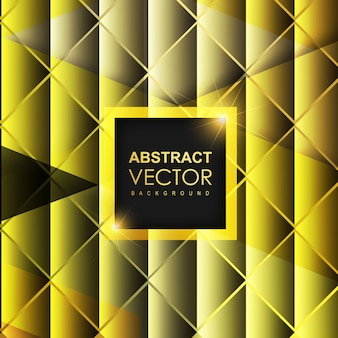 Black & Golden Abstract Background