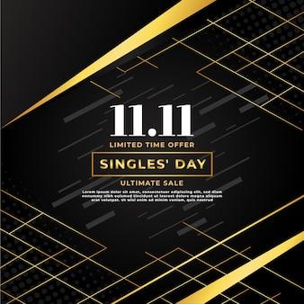 Giornata dei single neri e dorati