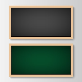 Black and green chalkboard