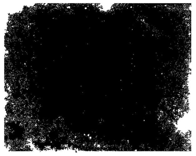 黒のグランジテクスチャ背景