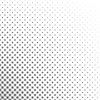 Черные полутоновые точки на белом фоне