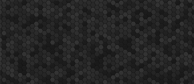 Black honeycomb industrial background