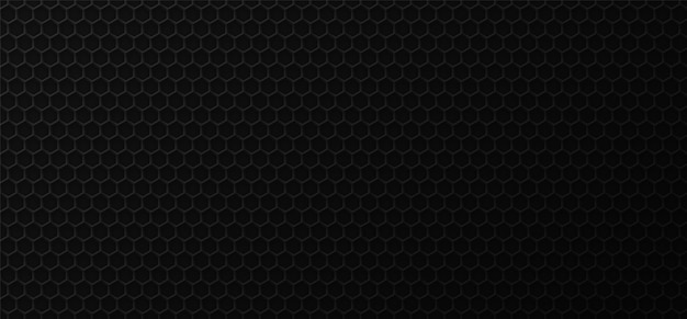 Black honeycomb industrial background .