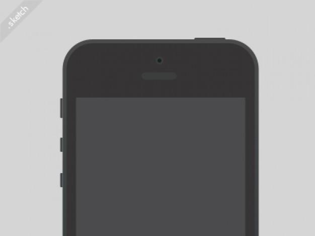Iphone nero schizzo