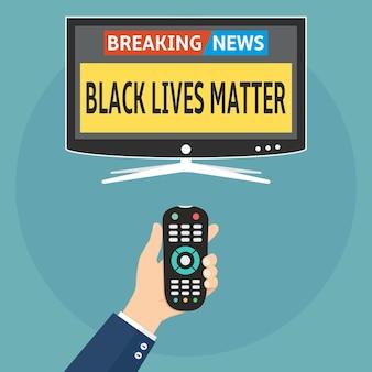Акция протеста black lives matter последние новости