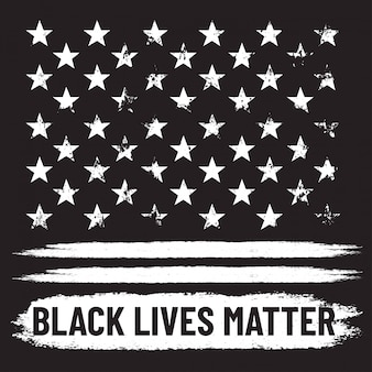 Black lives matter. protest with black grunge background