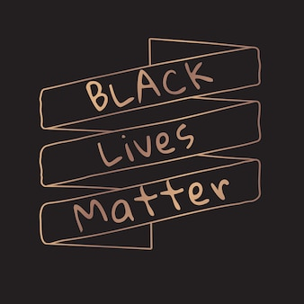 Le vite nere contano banner sociale