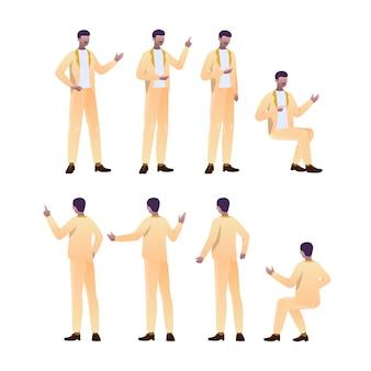 黒人男性のキャラクター