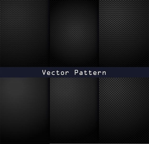 ブラックメタルパターンテクスチャ鋼の背景
