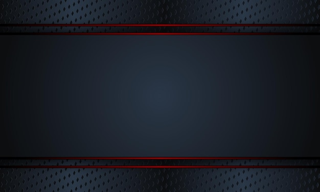 Black metal with red lines background. vector illustration. completely new design for your business.