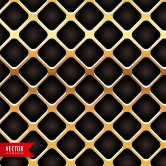 Metallo dorato texture di sfondo