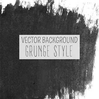 Black multipurpose watercolor brush grunge template background