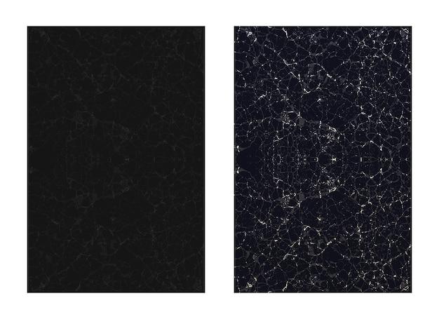 Черная натуральная мраморная текстура