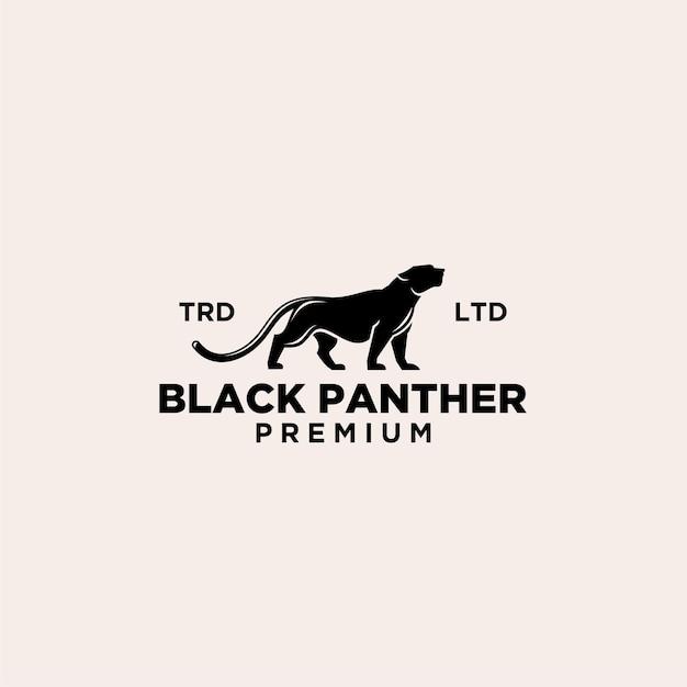 ブラックパンサーヴィンテージプレミアムロゴ