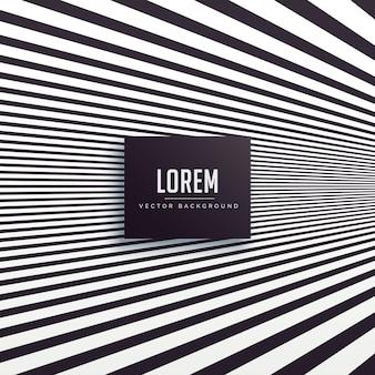 Black perspective lines background design