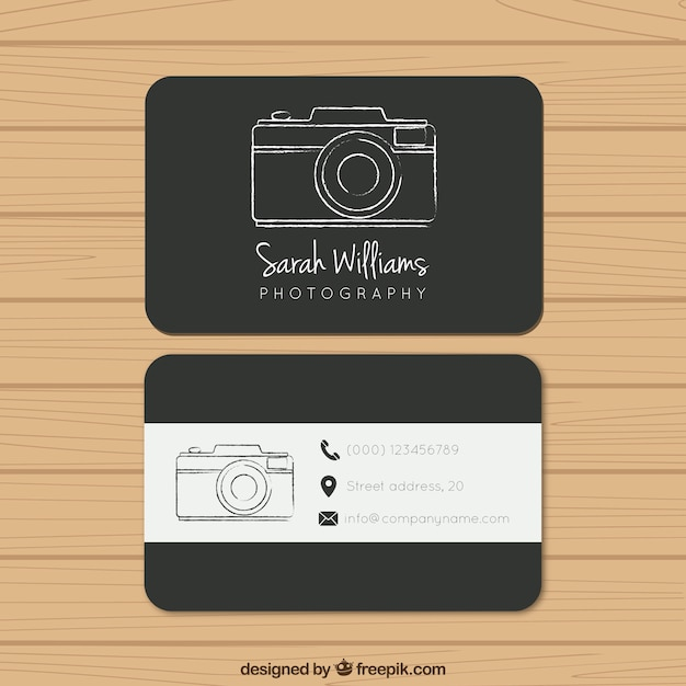 Photography business card tachrisaniemiec photography business card flashek Gallery