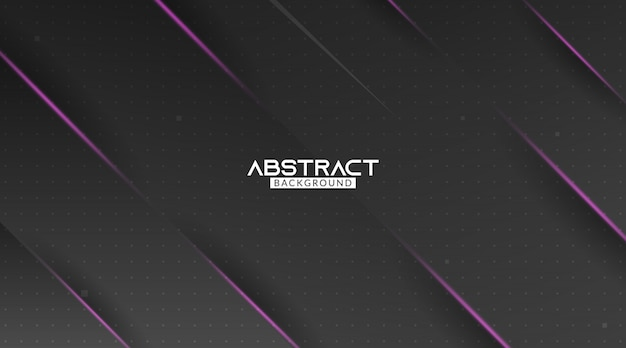 Black and purple modern abstract background