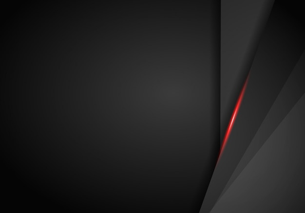 Black and red metallic background.