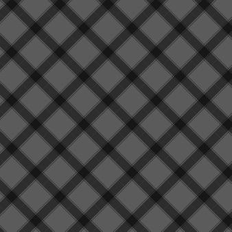Black seamless gingham pattern background