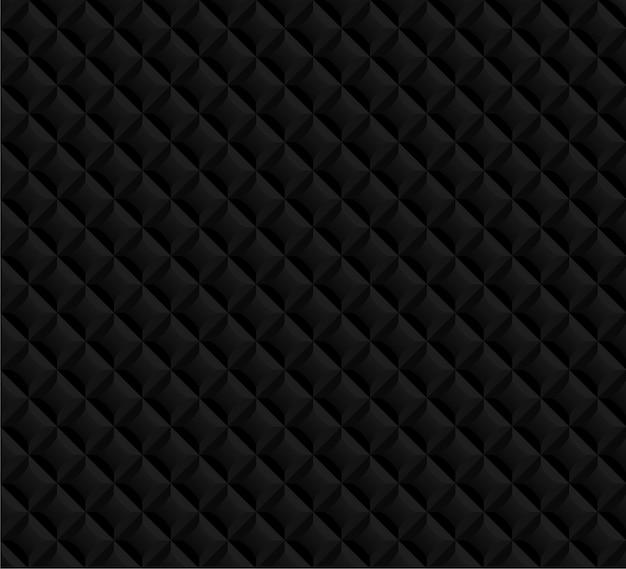 Black seamless pattern background