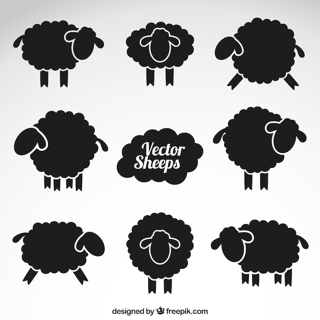 sheep vectors photos and psd files free download rh freepik com sheep vector silhouette sheep vector logo