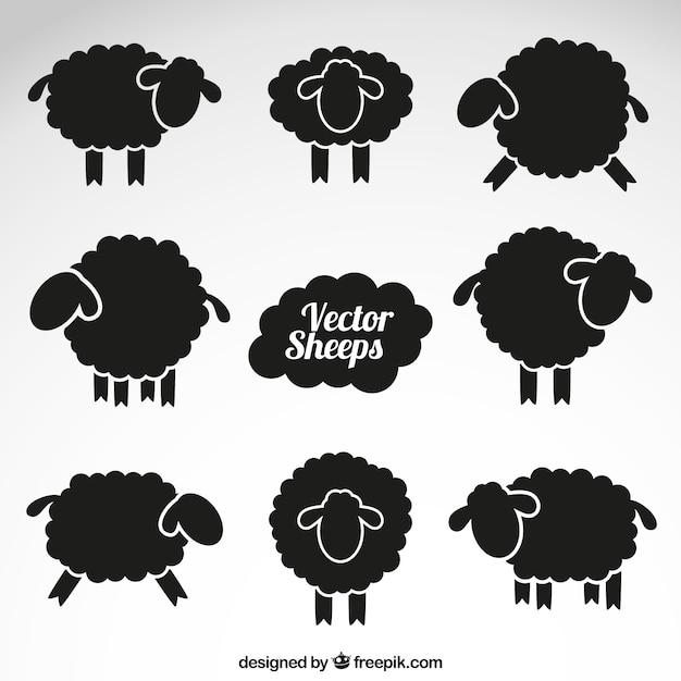 sheep vectors photos and psd files free download rh freepik com sheep vector png sheep vector line