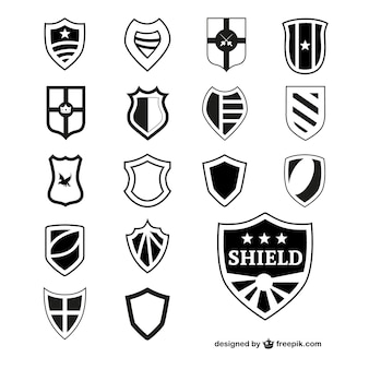 Black shields collection