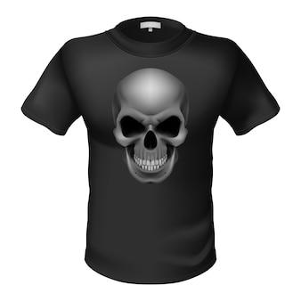黒のtシャツ