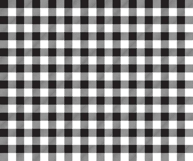 Black table cloth seamless pattern
