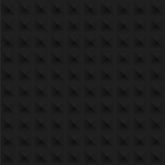 黒のテクスチャのシームレスなパターンの背景。完璧な光と影の寸法設計。
