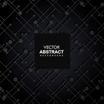 Black Vector Abstract Background