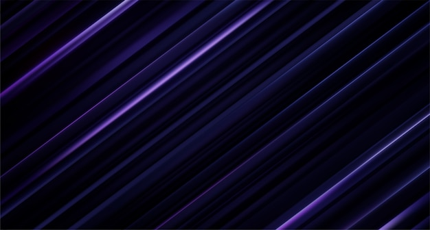 Black and violet sliced surface. abstract geometric background.