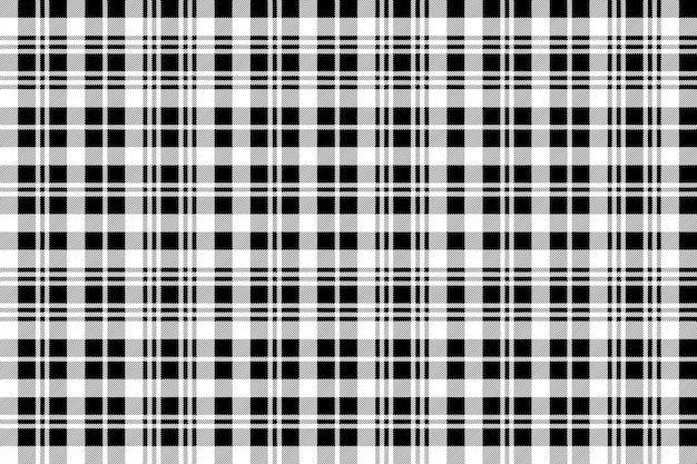 Black watch tartan fabric texture seamless pattern