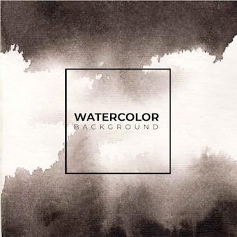あらゆる目的のための黒い水彩画の背景。抽象的な水彩テクスチャの背景。