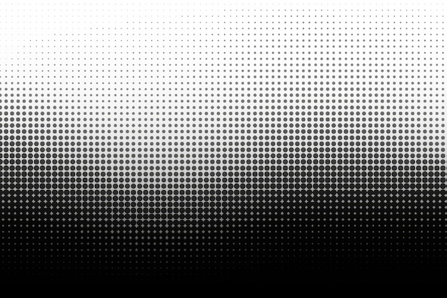 Black wave halftone background