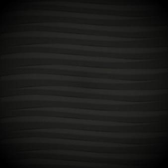 Nero disegno di sfondo ondulato