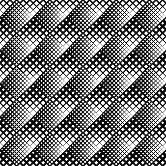 Black and white abstract diagonal square pattern background