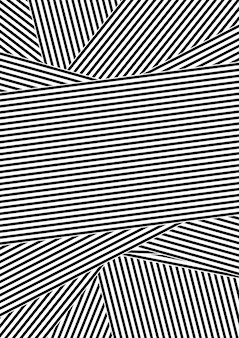 Black and white abstract striped design background