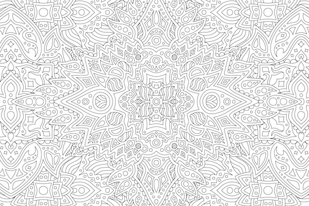 Black and white background with abstract design