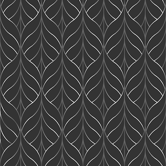 Black and white geometric abstract pattern